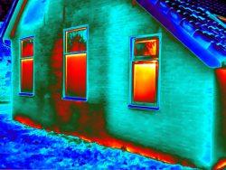 Isolatie controle met gebruik van thermografie in Friesland