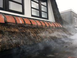 Rookproef in Leeuwarden in de provincie Friesland