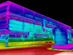Gebouw thermografie bij Delta Instruments in Drachten, Friesland