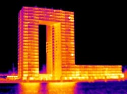 Energiekeurplus is specialist in gebouw thermografie