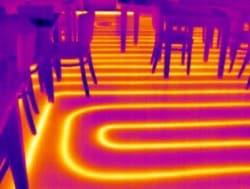 Thermografie en lekdetectie bij vloerverwarming in Friesland
